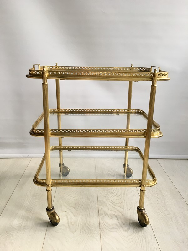 Vintage French brass drinks trolley bar cart-the-vintage-trader-IMG_2176-main-636766630575092451.jpg