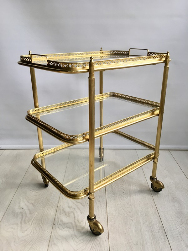 Vintage French brass drinks trolley bar cart-the-vintage-trader-IMG_2181 (1)-main-636766631282094115.jpg