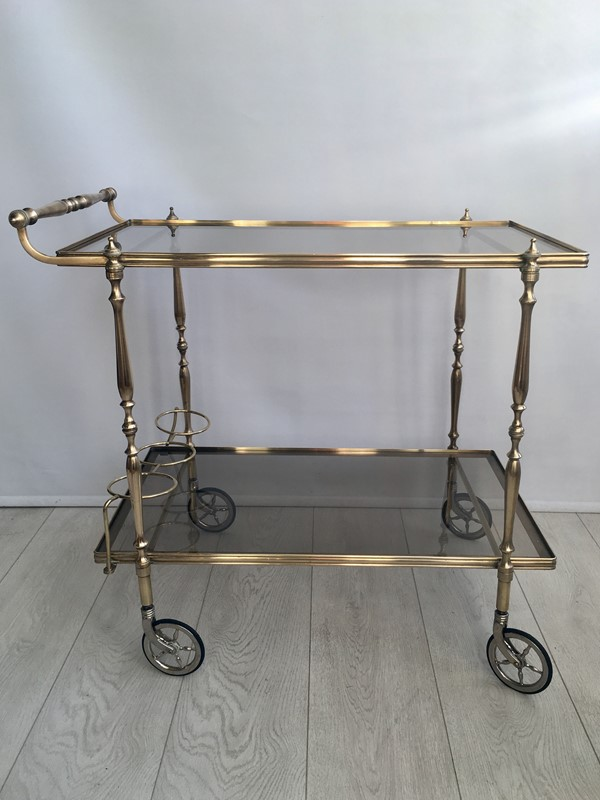 Vintage French brass drinks trolley bar cart-the-vintage-trader-img-3386-1-main-636832410993912908.jpg