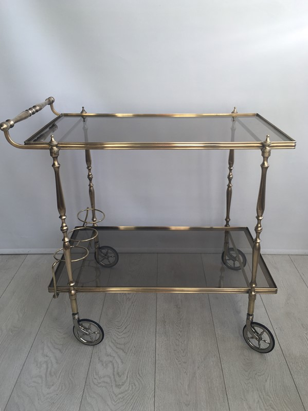Vintage French brass drinks trolley bar cart-the-vintage-trader-img-3387-1-main-636832412165450565.jpg