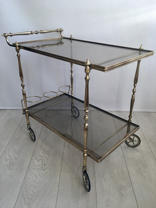 Vintage French brass drinks trolley bar cart-the-vintage-trader-img-3390-1-main-636832412234200469.jpg