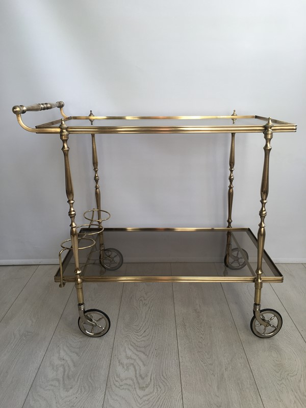 Vintage French brass drinks trolley bar cart-the-vintage-trader-img-3394-main-636832412312013159.JPG