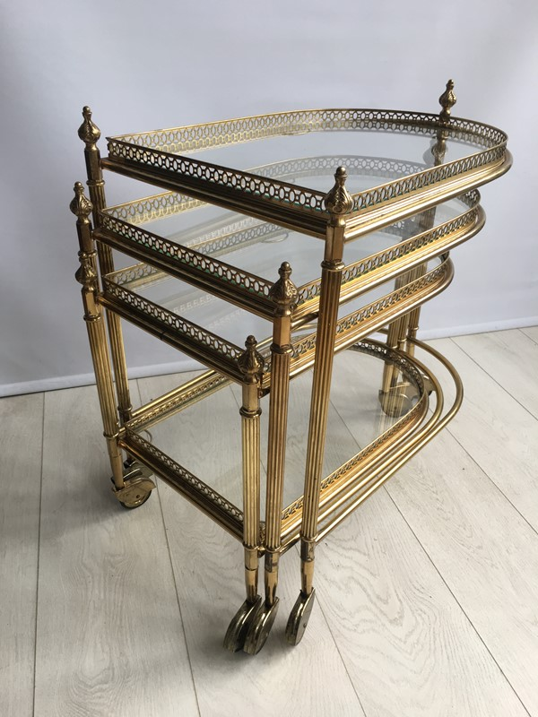 Beautiful nest of vintage brass tables/trolleys-the-vintage-trader-img-4526-main-636856592648043870.JPG
