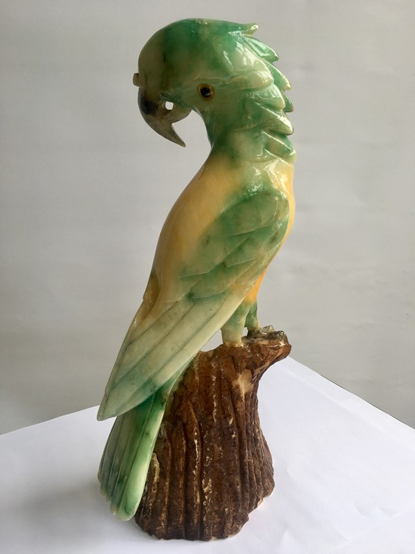French Art Deco carved alabaster parrot sculpture-the-vintage-trader-img-6045-main-636917022319583811.jpg