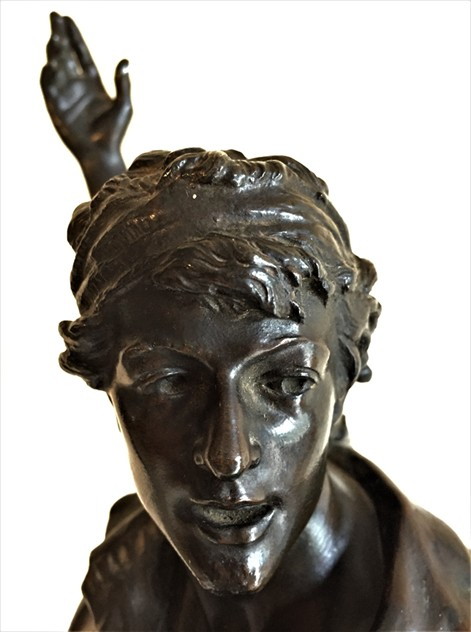 P Choppin, Bronze Revolutionary Figure-tigers-decorative-IMG_1976_main_636404889060546187.JPG