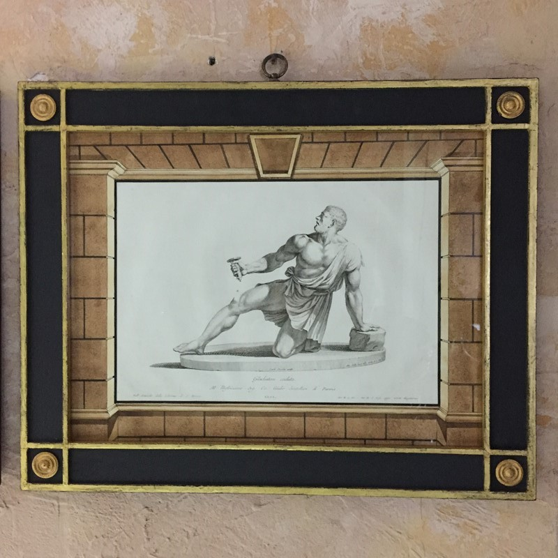 Set Of Roman & Greek Framed Engravings, A.Zanetti-tigers-decorative-img-7862-main-637071785475199828.JPG