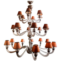 24 Light Murano Glass Chandelier