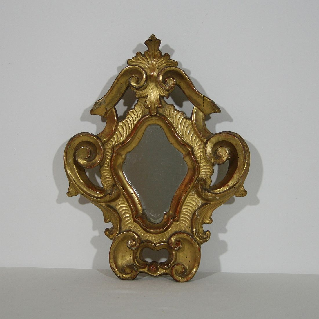 small italian baroque mirror decorative collective