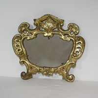 18th Century, Italian Carved  Baroque Mirror