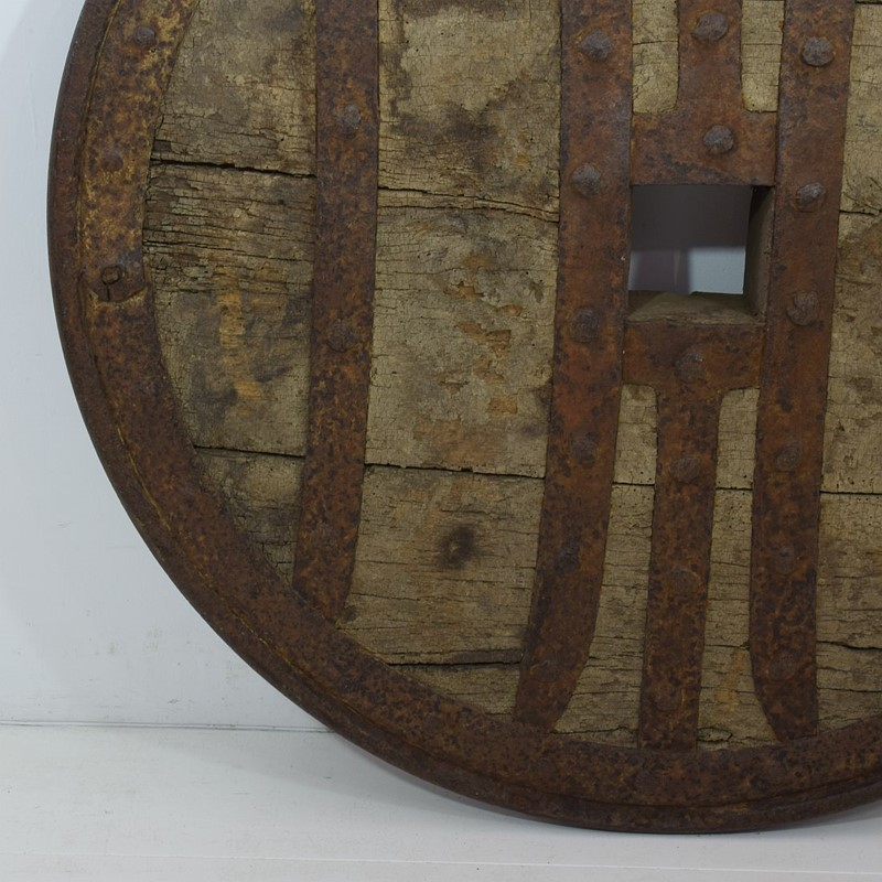 17th-18th Century Primitive Spanish Chariot Wheel-tresors-trouves-19004510-main-637331881075183122.JPG