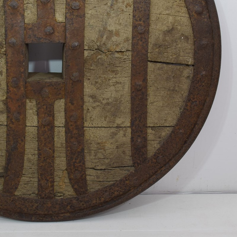 17th-18th Century Primitive Spanish Chariot Wheel-tresors-trouves-19004511-main-637331881080655958.JPG