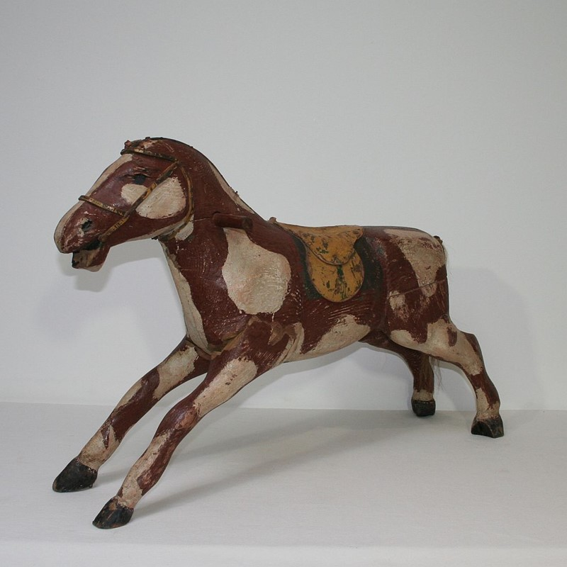 French 19th Century Carved Folk Art Wooden Horse-tresors-trouves-1900631-main-636929353771831563.JPG