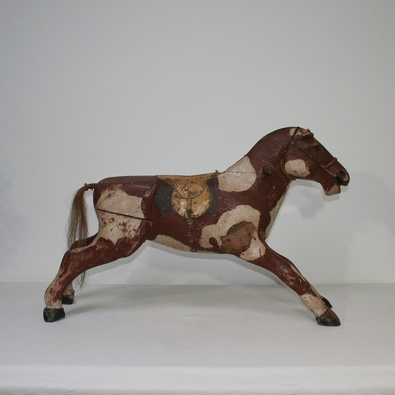 French 19th Century Carved Folk Art Wooden Horse-tresors-trouves-1900633-main-636929353780115501.JPG