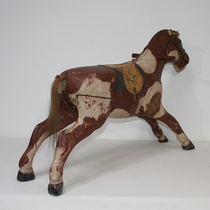 French 19th Century Carved Folk Art Wooden Horse-tresors-trouves-1900634-main-636929353784175554.JPG