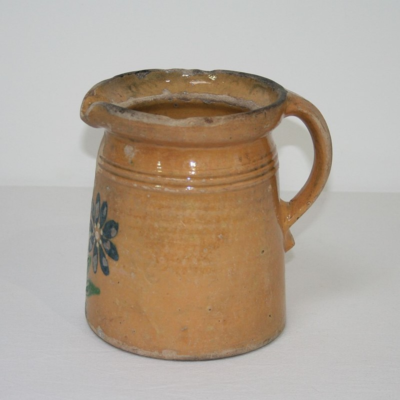 19th Century French Glazed Earthenware Alsace Jug-tresors-trouves-1900744-main-636929062328815027.JPG