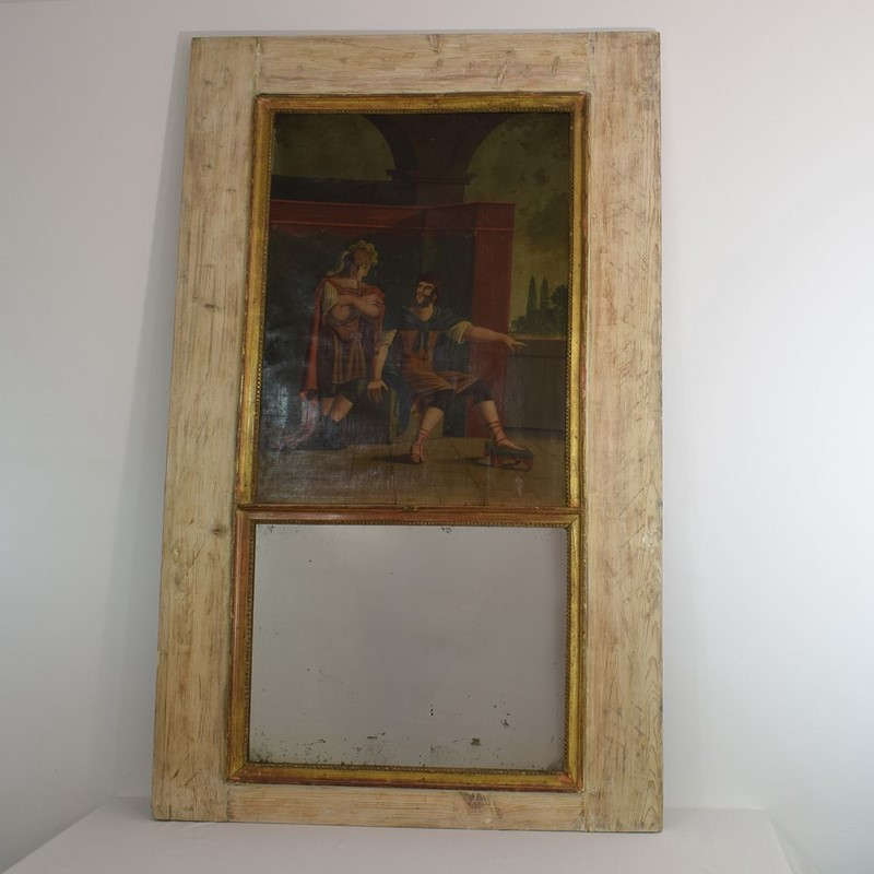 18th Century French Trumeau Mirror with a Painting-tresors-trouves-1901780-main-637114003295674908.JPG