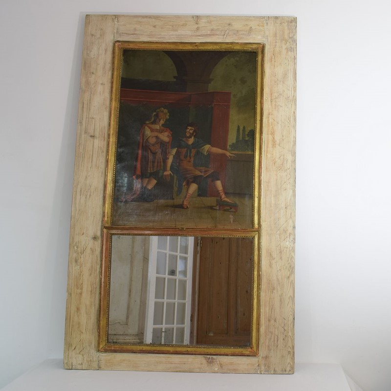 18th Century French Trumeau Mirror with a Painting-tresors-trouves-1901781-main-637114003499431084.JPG