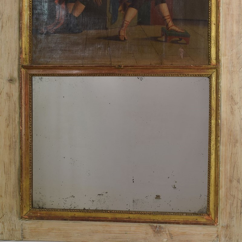 18th Century French Trumeau Mirror with a Painting-tresors-trouves-1901783-main-637114003508493447.JPG