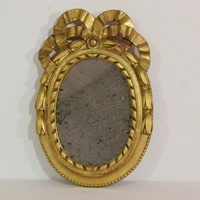 Small French 18th Century Louis XVI Style Mirror