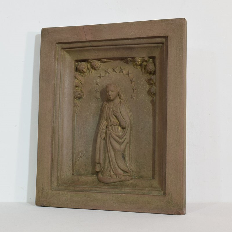18th-19th Century Sandstone Panel with a madonna-tresors-trouves-2004511-main-637473638921677813.JPG