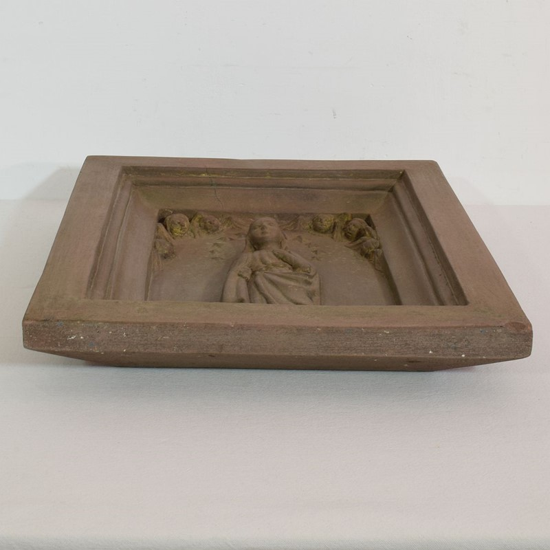 18th-19th Century Sandstone Panel with a madonna-tresors-trouves-20045121-main-637473639041052087.JPG