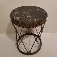 19th Century Marble Topped Side Table