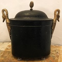19th Century Toleware Egg Holder