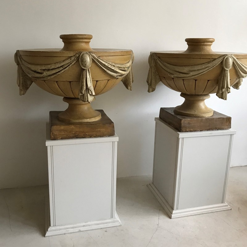 Pair English 19thC painted plaster urns-twig-ltd-img-0854-2-main-637467599001817996.JPG