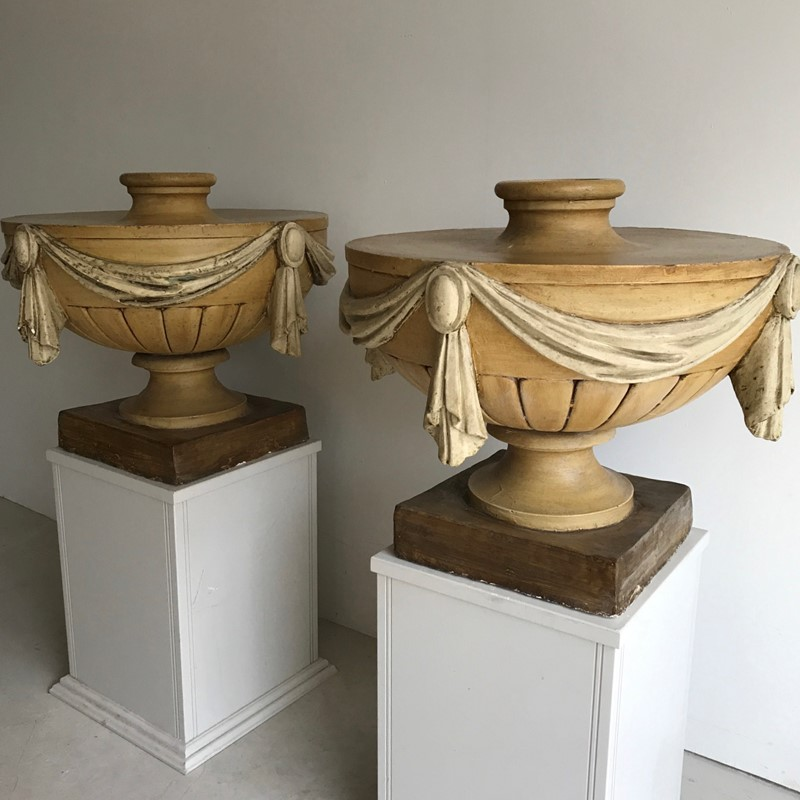 Pair English 19thC painted plaster urns-twig-ltd-img-0858-main-637467598991505641.JPG