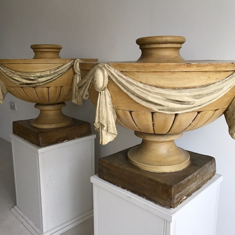 Pair English 19thC painted plaster urns-twig-ltd-img-0861-main-637467599040411421.JPG