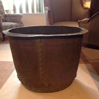 Large Antique Copper Pot