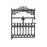 Victorian Antique Cast Iron Gate