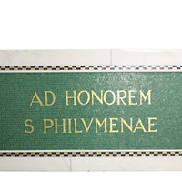 Marble And Mosaic Tile Plaque