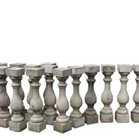 Set Of Fourteen Portland Stone Balusters