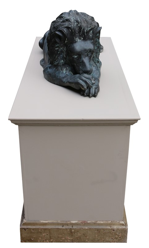Bronze Lions In The Manner Of  Antonio Canova-uk-heritage-19386-4-main-636869593282001114.JPG