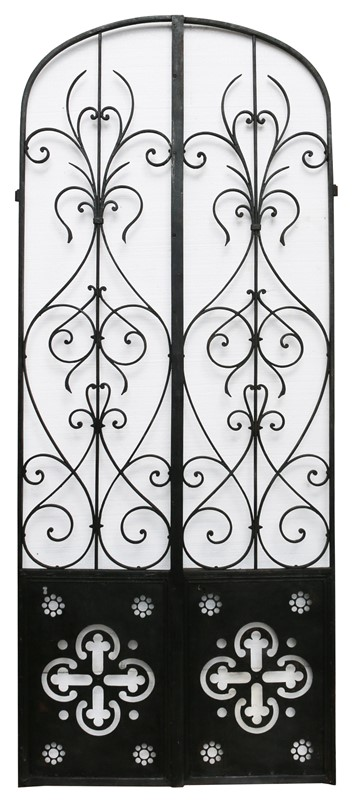Pair Of French Wrought Iron Arched Gates -uk-heritage-19852-main-636929250107969437.JPG