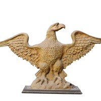 Gold Painted Carton Piere Eagle