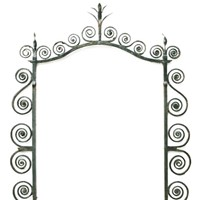 Wrought Iron Pub Sign Frame