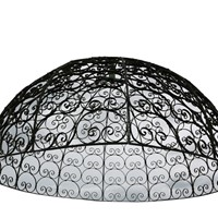 Wrought Iron Domed Roof / Temple Dome