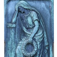 A Finely Cast Bronze Wall Plaque