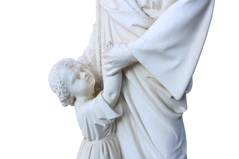 Antique Plaster Sculpture / Statue Of St. Anthony-uk-heritage-25247-137-main-636882409901650592.JPG