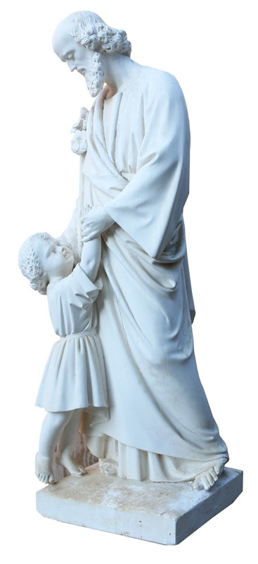 Antique Plaster Sculpture / Statue Of St. Anthony-uk-heritage-25247-18-main-636882409878838320.JPG
