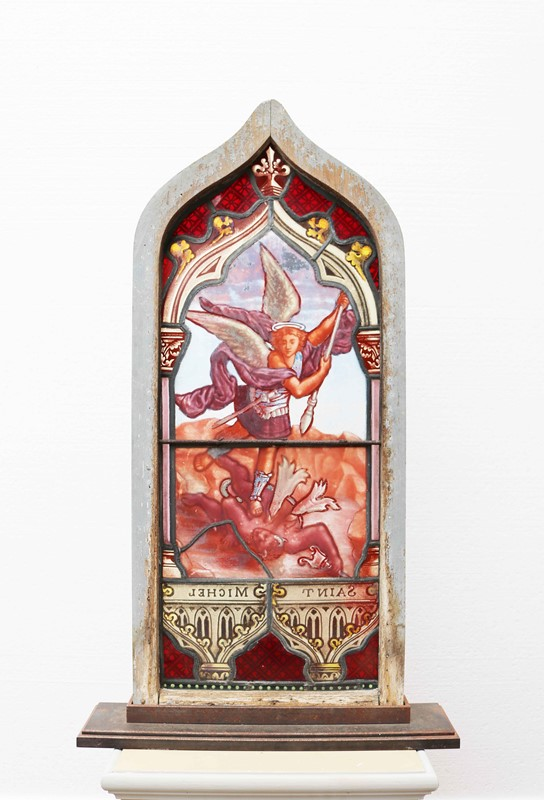 Antique 'St Michel' Stained Glass Window-uk-heritage-27773-13-main-637012063725356485.JPG
