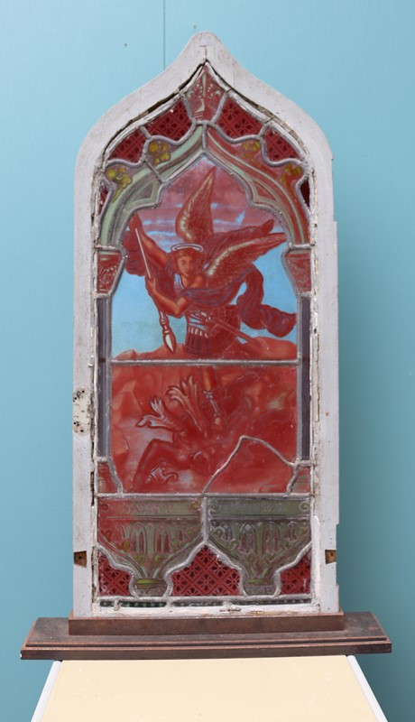 Antique 'St Michel' Stained Glass Window-uk-heritage-27773-14-main-637012063767075343.JPG