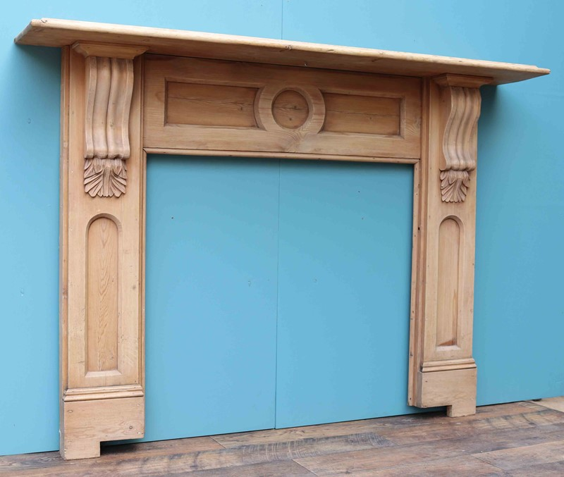 Antique Pine Fireplace / Fire Surround-uk-heritage-27960-4-main-637049219147383873.JPG