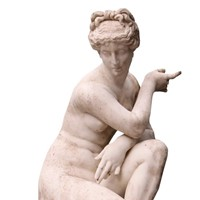 Antique Marble Sculpture Of Aphrodite