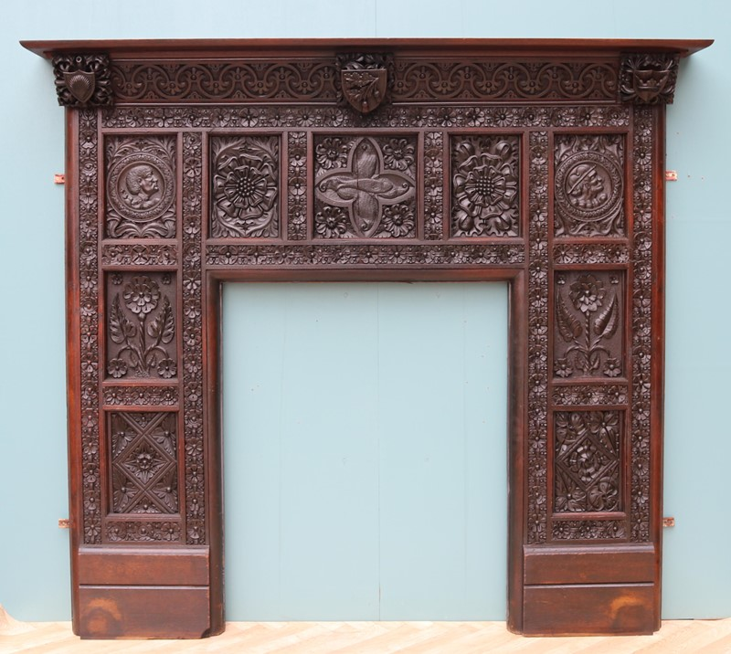 An English Jacobean Revival Carved Oak Fireplace-uk-heritage-29065-100003-main-637184086700980700.JPG