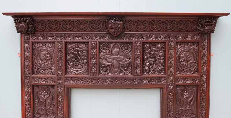 An English Jacobean Revival Carved Oak Fireplace-uk-heritage-29065-100012-main-637184086851136436.JPG