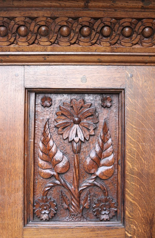 English Arts & Crafts Style Carved Oak Fireplace-uk-heritage-29070-100008-main-637184126463760110.JPG