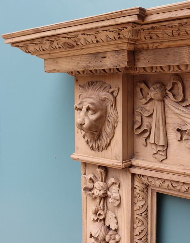 An Antique Carved Pine Fire Surround in The Style -uk-heritage-30032-110-main-637232394415748941.JPG